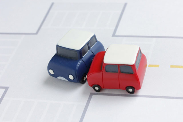 一時停止無視の事故のケース別過失割合
