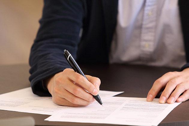 自賠責保険への請求(被害者請求)の流れ
