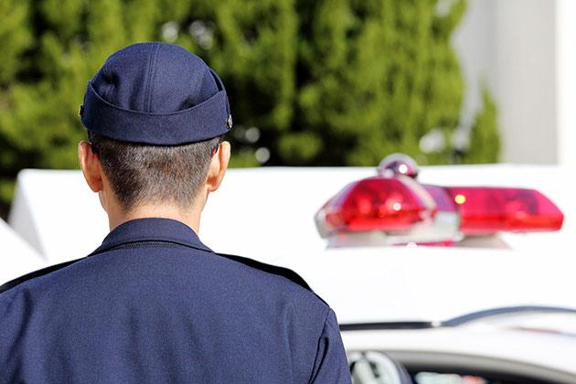 物損事故の警察対応